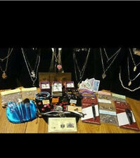 38 Piece JEWELRY LOT☆✔GEMSTONE NECKLACES & PEARL NECKLACE+GF PEARL E/Rs &MORE!~!