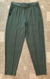 Nike Dry Womens Running Pant Green Size Medium M Slim Fit BV2891-326