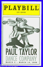 Playbill + The Paul Taylor Dance Company + Lisa Viola , Thomas Patrick
