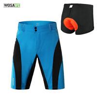 Mens Cycling Shorts Baggy Bike Short Sports Pants Casual Beach Shorts Underwear