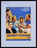 Celebrity Charades 2005 AMC Framed 11x14 ORIGINAL Vintage Advertisement