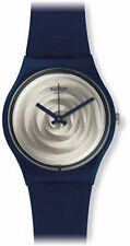 Swatch Women's Silicone/Rubber Band Wristwatches