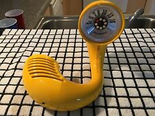 "Vintage Panasonic 1970 R-72 ""Toot-A-Loop"" Space age- AM Radio- GLOSS YELLOW MINT"