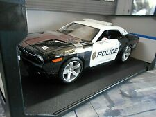 DODGE Challenger Coupe Police Polizei 911 Coupe V8 Muscle Car US Maisto 1:18