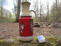 "70er Jahre ""Fat Lava"" Style Keramik Vase - west german pottery ceramic vase"