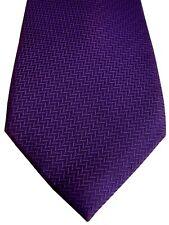 TM LEWIN Mens Tie Purple SKINNY