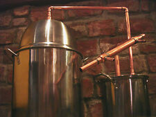 5 GALLON Steel Copper Pot Still Boiler & Thumper Distill Distillation Moonshine