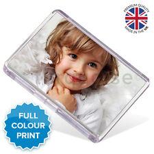 Personalised Custom Photo Gift Fridge Magnet 70 x 45 mm | Large Size