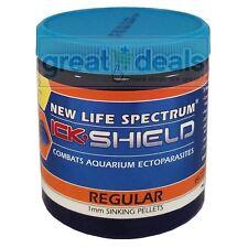 New Life Spectrum Ick Shield Regular 125g 1mm Sinking Pellet Medicated Fish Food