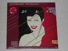 DURAN DURAN  Rio  2LP Limited Edition Double LP Orig US Mixes New Sealed Vinyl
