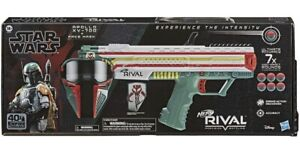 Nerf Rival Star Wars Apollo XV-700 Blaster, Face Mask, Boba Fett Insignia NEW