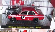 M2 Machines Auto-Japan 1969 Nissan Bluebird 1600 SSS  8800 pcs.   WMTS05 17-16 r