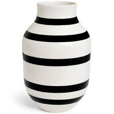 Kähler Design Vase Omaggio Schwarz (30,5cm)
