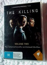 THE KILLING - VOLUME 2 (DVD, 3-DISC SET) R - ALL, LIKE NEW, FREE POST AUS-WIDE