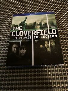 The Cloverfield 3 Movie Collection Triple Feature Bluray w/ Slipcover New