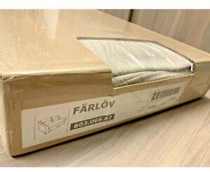 IKEA FARLOV COVER SLIPCOVER FOR LOVESEAT  Flodafors Beige 603.066.82 NEW In Box