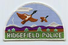 Vintage Ridgefield Washington Police Uniform/Shoulder Patch WA