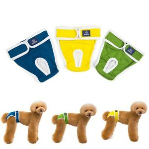 Pet Dog Physiological Pants Diaper Panties Underwear Belly Band For Female Dog