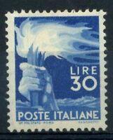 Italia Repubblica 1945 Sass. 563 Nuovo ** 100% Democratica