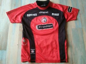 MAILLOT FOOT UHLSPORT STADE RENNAIS FINAREF TAILLE 12 ANS BE