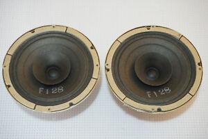 "Pair of Plessey Rola 5"" 15 Ohm 5FX00 Full Range Speaker Drivers AUSTRALIA"