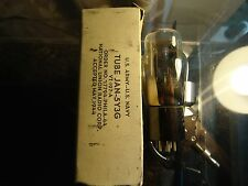 JAN 5Y3G USA 1944 VT-197-A MILITARY NOS NEW OLD STOCK IN BOX VINTAGE VALVE TUBE