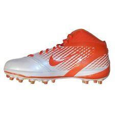 NEW Nike Air Zoom Alpha Talon Football Cleats White/Orange 443308-181 Sz 14.5