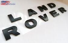 New Land Rover Black 3M Letters Hood or Trunk Tailgate Emblem Badge Nameplate (Fits: Land Rover Freelander)