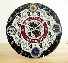 Northern Soul Wall Clock, Mod Clock, Keep The Faith Clock, Wigan Casino Clock