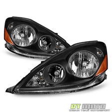 For Black 2006-2010 Toyota Sienna Halogen Type Headlights Headlamps Left+Right