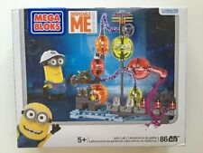 Mega Bloks Despicable Me Minion JELLY LAB Mini Kevin Figure New