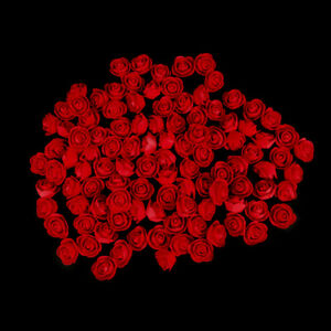 100/144Pc Artificial Foam Mini Roses Head Small Flowers Wedding Home Party Decor