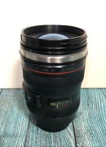 Camera Lense Thermos Mug / Drinks Beaker / Plastic