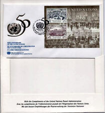 1995 UNITED NATIONS 50th ANNIVERSARY 1st Day Cover CANCELLED IN SAN FRANCISCO,