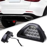 1Pcs Car 12v LED Rear Tail Brake DRL Stop Light Strobe Flash Fog Lamp F1 Style