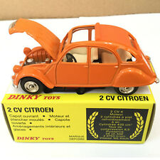 1:43 Atlas Dinky Toys 011500 2 CV CITROEN Alloy Diecast Car model & Toys Model