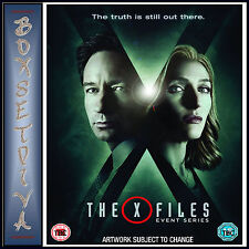 X-files The Event Series 5039036076630 With David Duchovny DVD Region 2