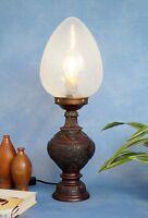 Einzigartige original Jugendstil Amphoren Tischlampe Schreibtischleuchte um 1910
