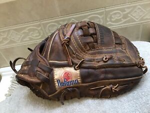 "Nokona AMG-175X 12"" Buckskin Baseball Softball Glove Right Hand Throw"