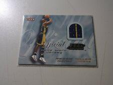 2000-01 Fleer - REGGIE MILLER - Feel the Game Worn Jersey - PACERS