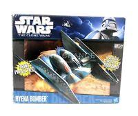 Hasbro Star War The Clone Wars HYENA BOMBER Droid Vehicle 2010 VHTF