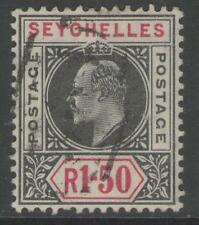 Used Edward VII (1902-1910) Seychelles Stamps (Pre-1976)