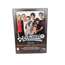 4 Disc Box Set DEGRASSI - THE NEXT GENERATION Complete Season 6 (Six)