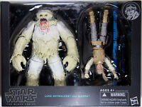 Star Wars Black Series ~ LUKE SKYWALKER & WAMPA Action Figure Set ~ Hasbro