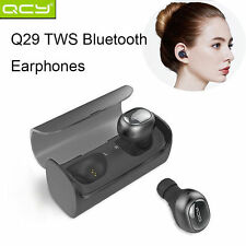 True TWS Twins QCY Q29 Bluetooth Wireless Stereo Headset Inear Earbuds Headphone