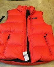Ralph Lauren RLX Mens jacket XL orange vest new with tags