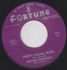 "ARTHUR GRISWOLD Pretty Mama Blues RE. 45 7"" Hard Driving Beat mid 60s R&B HEAR"