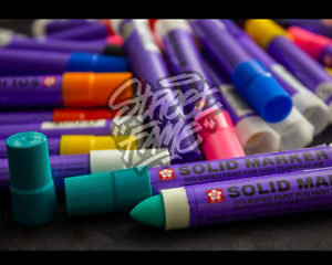 Sakura Solid Paint Marker [9 Colours Available]