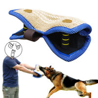 Strong Jute Large Dog Training Bite Arm Sleeve for K9 Schutzhund Free Shipping