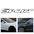 3D Metal Sport Logo Auto Trunk Tailtgate Emblem Badge Decal Sticker Silver F3